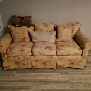 Small sofa slight wear and tear vintage